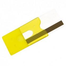Porta card trasparente rigido