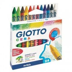 Pastelli a cera Giotto 24...