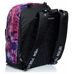 Zaino Scuola Seven Reversibile Tye and Dye Girl + Cuffie Wireless Rif 317