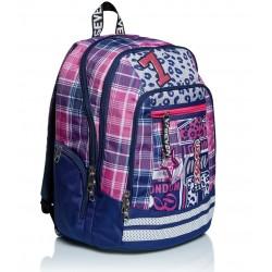 Zaino Scuola Seven Advanced - Cheer Girl Con USB plug Rif 253