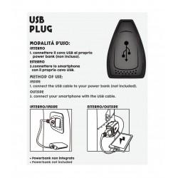 Zaino Scuola Seven Advanced - Wild Feeling con USB plug Rif 250