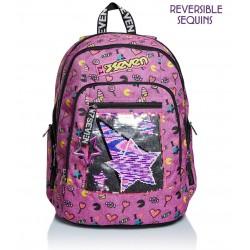 Zaino Scuola Seven Advanced - Starry Rainbow Rif 248