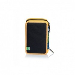 SchoolPack Seven City Explorer Zaino + Astuccio Attr. 3Zip  Rif 345