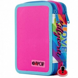 Astuccio GoPop 3 zip Kittycorn Rif 489