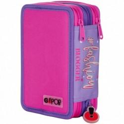 Astuccio GoPop 3 zip Fashion Rif 491