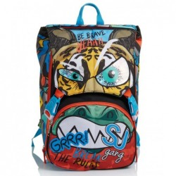 Schoolpack Seven Animali Boy Zaino + Astuccio 3zip Rif 576
