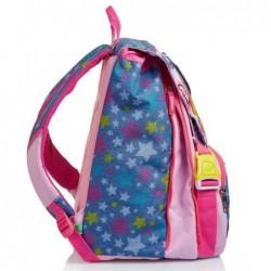 Schoolpack Seven Facce da Sj New Zaino + Astuccio Rif 577